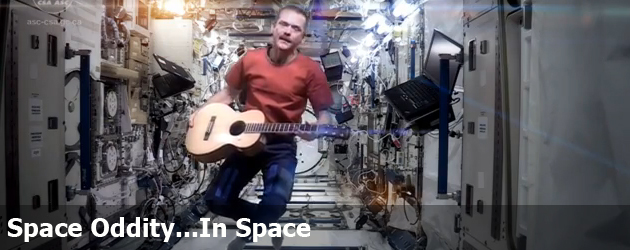 Space Oddity...In Space
