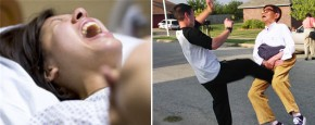 Bevalling Versus Trap In De Ballen