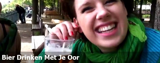 Bier Drinken Met Je Oor