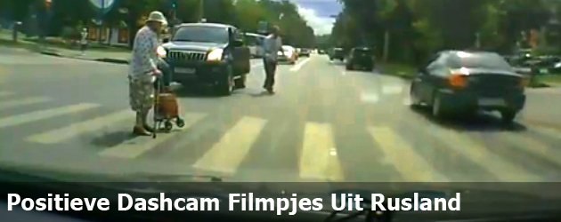 Positieve Dashcam Filmpjes Uit Rusland