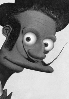 Apu in Dali stijl