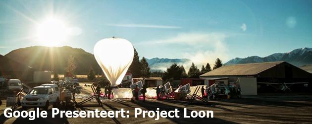 Google Presenteert: Project Loon