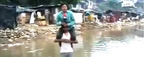 Rel Om Indiase Reporter Met Watervrees