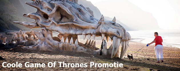 Coole Game Of Thrones Promotie