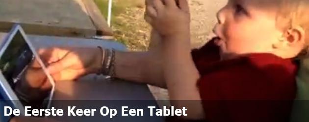 De Eerste Keer Op Een Tablet