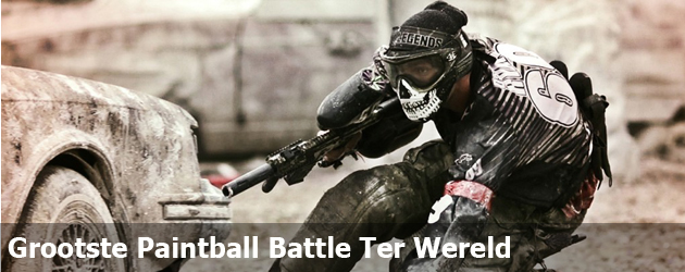 Grootste Paintball Battle Ter Wereld