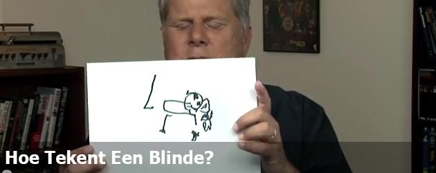 Hoe Tekent Een Blinde?