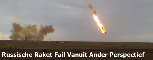 Russische Raket Fail Vanuit Ander Perspectief