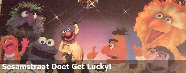 Sesamstraat Doet Get Lucky!