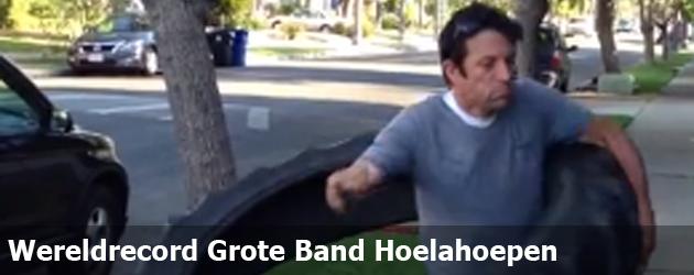 Wereldrecord Grote Band Hoelahoepen
