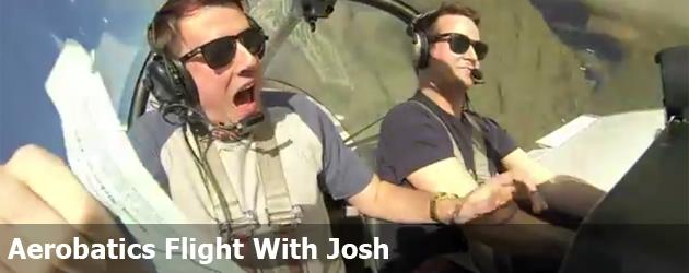 Aerobatics Flight With Josh