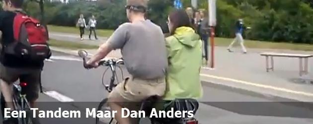 Een Tandem Maar Dan Anders