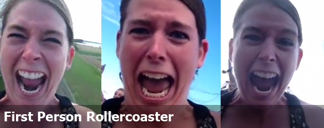 First Person Rollercoaster