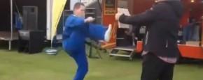 Hele Slechte Taekwondo Demonstratie