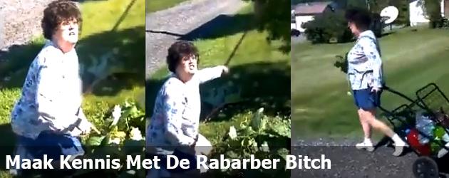 Maak Kennis Met De Rabarber Bitch