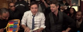 My First Blurred Lines Met Jimmy Fallon