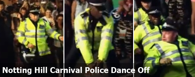 Notting Hill Carnival Police Dance Off