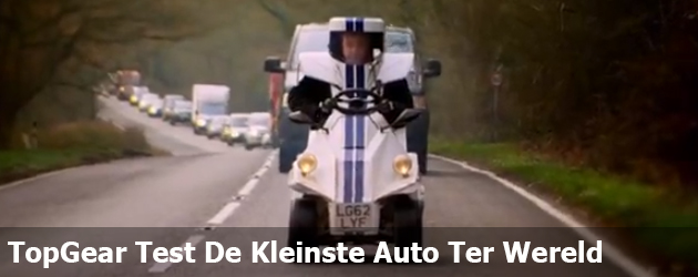 TopGear Test De Kleinste Auto Ter Wereld