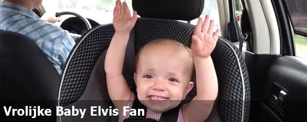Vrolijke Baby Elvis Fan