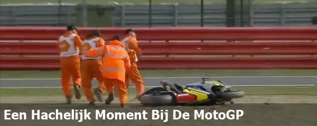 Een Hachelijk Moment Bij De MotoGP