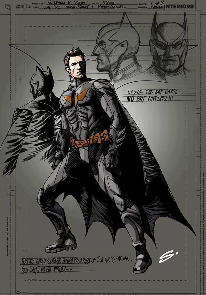Eerste Blik Op Ben Affleck Als Batman