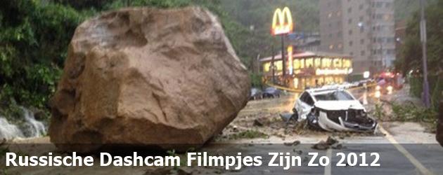 Russische Dashcam Filmpjes Zijn Zo 2012