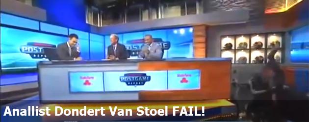 Anallist Dondert Van Stoel FAIL!