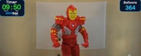 Blaas JE Eigen Iron Man Ballon Kostuum