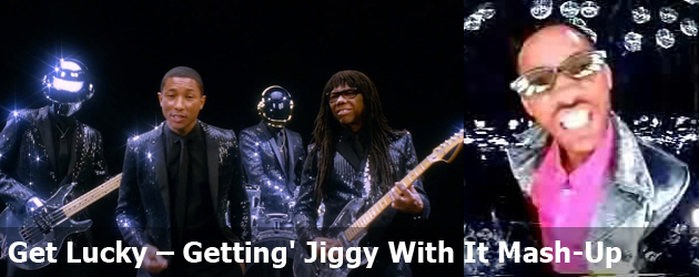 Get Lucky – Getting' Jiggy With It Mash-Up