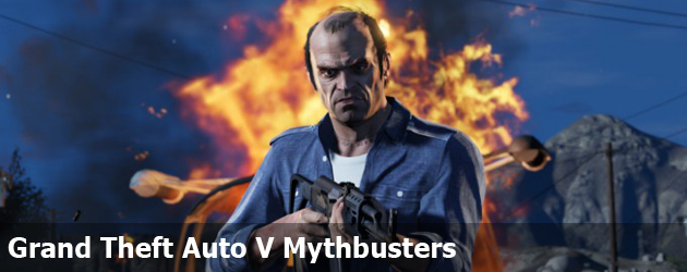 Grand Theft Auto V Mythbusters