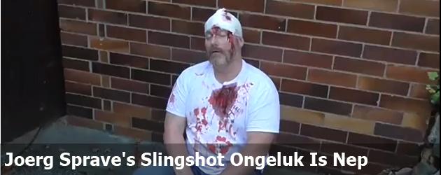 Joerg Sprave's Slingshot Ongeluk Is Nep