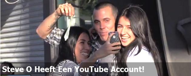 Steve O Heeft Een YouTube Account!
