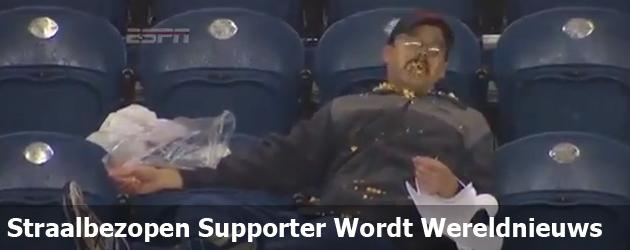 Straalbezopen Supporter Wordt Wereldnieuws