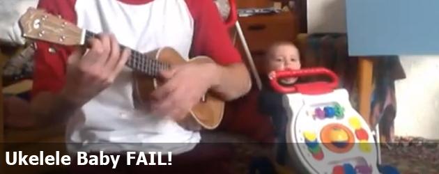 Ukelele Baby FAIL!
