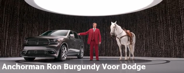 Anchorman Ron Burgundy Voor Dodge