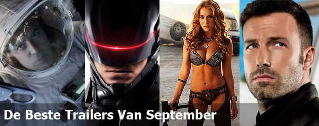 De Beste Trailers Van September