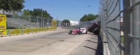 Zware Crash Tijdens IndyCar Race
