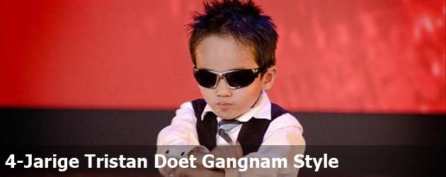 4-Jarige Tristan Doet Gangnam Style