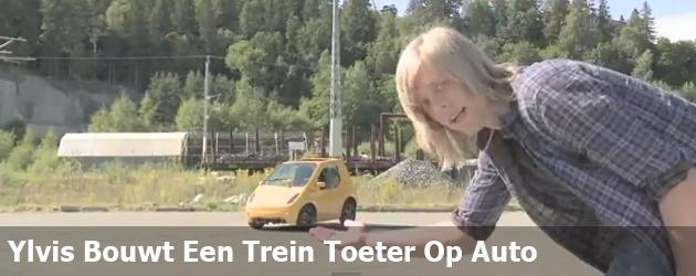 Ylvis Bouwt Een Trein Toeter Op Auto