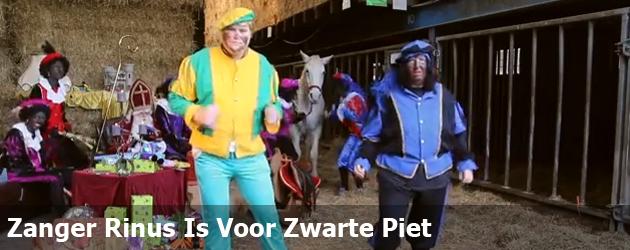 Zanger Rinus Is Voor Zwarte Piet