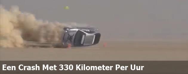 Een Crash Met 330 Kilometer Per Uur