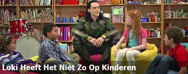 Loki Heeft Het Niet Zo Op Kinderen