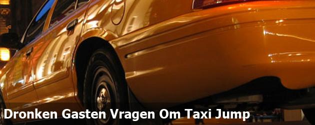Dronken Gasten Vragen Om Taxi Jump