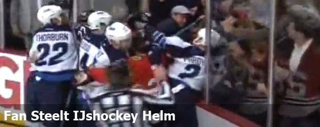 Fan Steelt IJshockey Helm