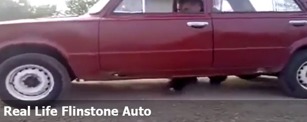 Real Life Flinstone Auto