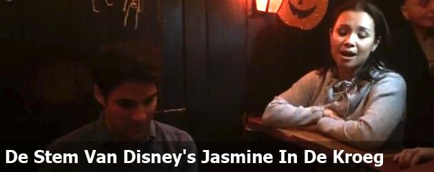 De Stem Van Disney's Jasmine In De Kroeg