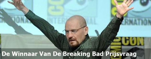 De Winnaar Van De Breaking Bad Prijsvraag