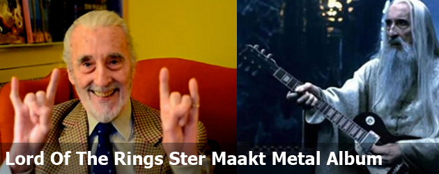 Lord Of The Rings Ster Maakt Metal Album