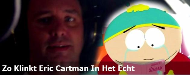 Zo Klinkt Eric Cartman In Het Echt