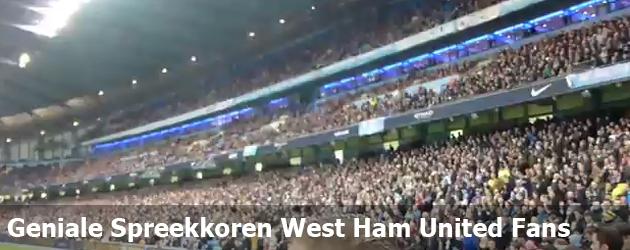 Geniale Spreekkoren West Ham United Fans